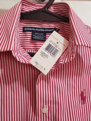 b903b7d789 2 camisas femininas Ralph Lauren Originais