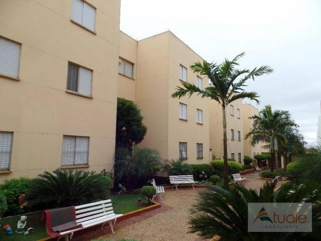 Apartamento com 2 dormitórios à venda, 50 m² - parque bandeirantes i (nova veneza) - sumar