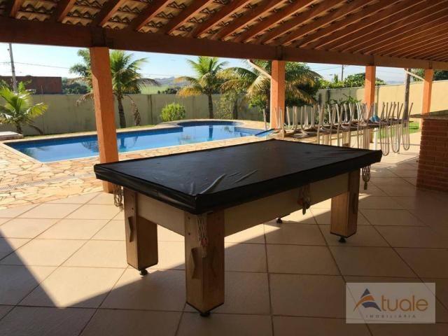 Chácara com 6 dormitórios para alugar, 1354 m² por r$ 5.000,00/mês - chácara recreio alvor - Foto 15