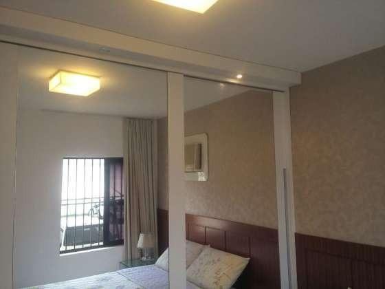 Vendo excelente apartamento todo reformado e mobiliado com garagem coberta 2/4 no planalto - Foto 17