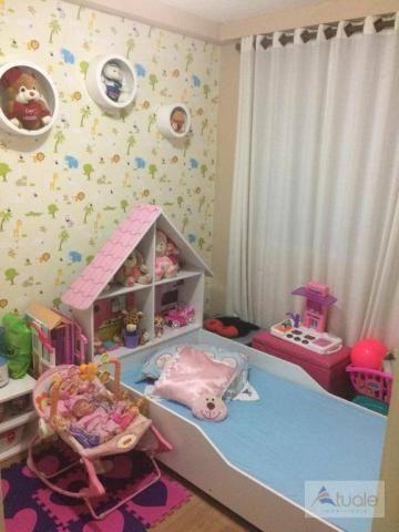 Apartamento com 3 dormitórios à venda, 50 m² - condomínio pitangueiras - hortolândia/sp - Foto 11