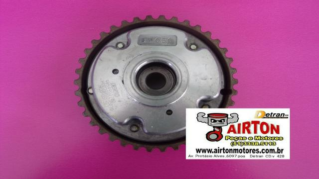 Polia-alternador-compressor-motor-arraque-bloco-virabrequim-comando-volante-cabeçote-tbi - Foto 7