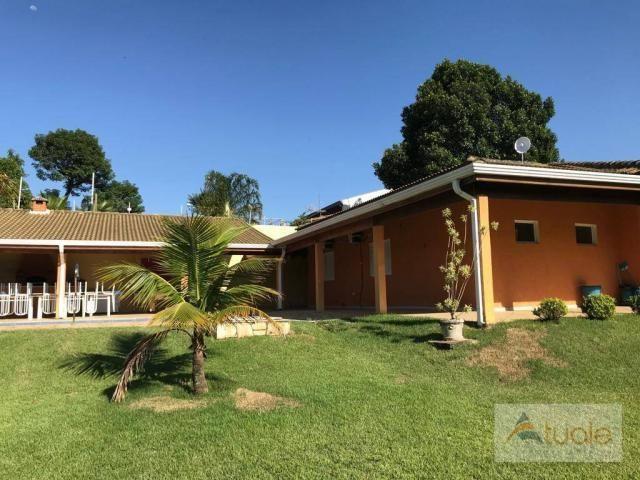 Chácara com 6 dormitórios para alugar, 1354 m² por r$ 5.000,00/mês - chácara recreio alvor - Foto 5