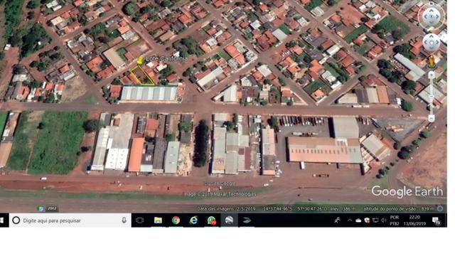 Vende-se uma área de 1.080 m2- Avenida Brasil ?Tangará da Serra, troca-se por carros