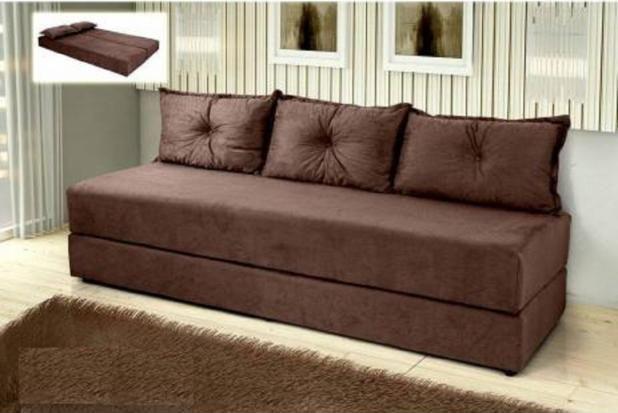 Sofá cama Multifuncional c/3 almofadas