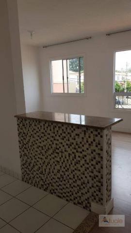 Apartamento com 3 dormitórios à venda, 63 m² - Villa Flora Hortolandia - Hortolândia/SP - Foto 4