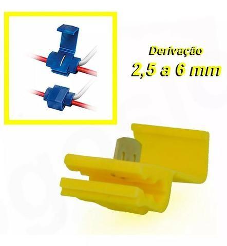 Conector Derivação para cabo 1,5 a 6mm (P/ Instalações elétricas) - Foto 2