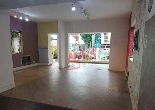 Sobrado comercial para alugar, 530 m² - Vila Mathias - Santos/SP - Foto 2