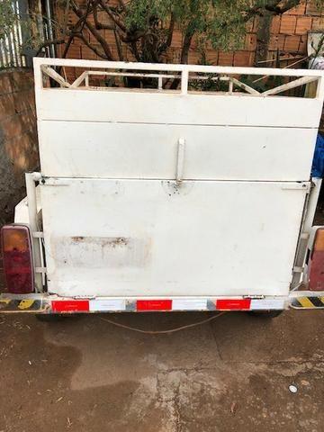 Carretinha reboque trailer sem placa (Leia o anuncio) - Foto 2