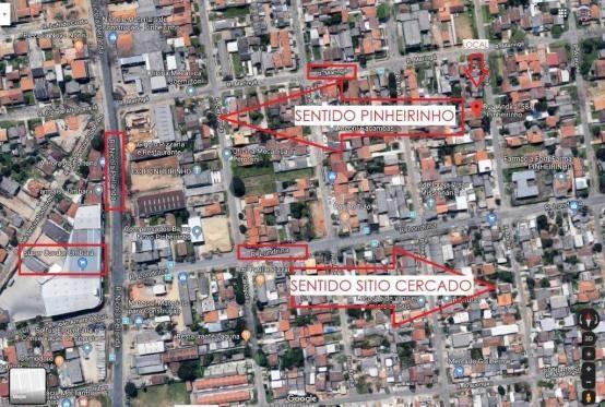 Terreno à venda, 440 m² por r$ 300.000,00 - pinheirinho - curitiba/pr - Foto 20
