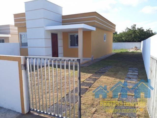 Casa nova com quintal