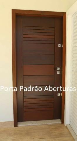 Porta madeira maciça pivotante - Foto 5