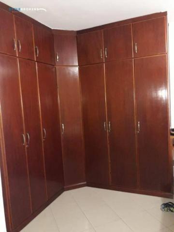 Apartamento no Edifício Caribe com 4 dormitórios à venda, 170 m² por R$ 320.000 - Baú - Cu - Foto 15