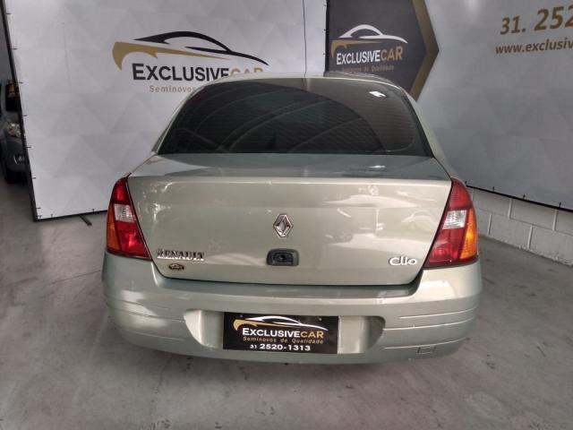 CLIO 2002/2002 1.0 RL SEDAN 16V GASOLINA 4P MANUAL - Foto 6