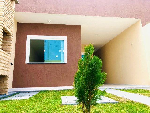 WS casa nova com 3 quartos,2 banheiros,coz.americana,quintal com otima localização - Foto 14