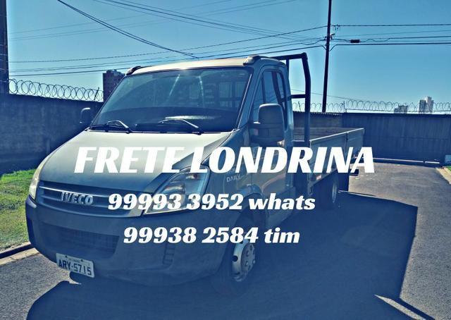 Frete em Londrina, confiança e rapidez!!!