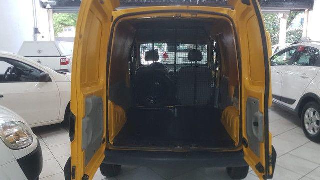 Renault Kangoo Express 1.6 Flex 2012 Amarela Porta Lateral Únido Dono Doc OK - Foto 7