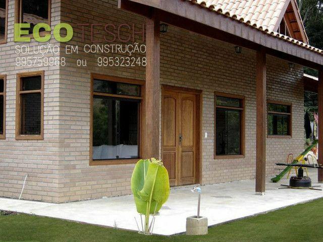 Casa de tijolinho ecologico de 350 a 450m3 - Foto 8