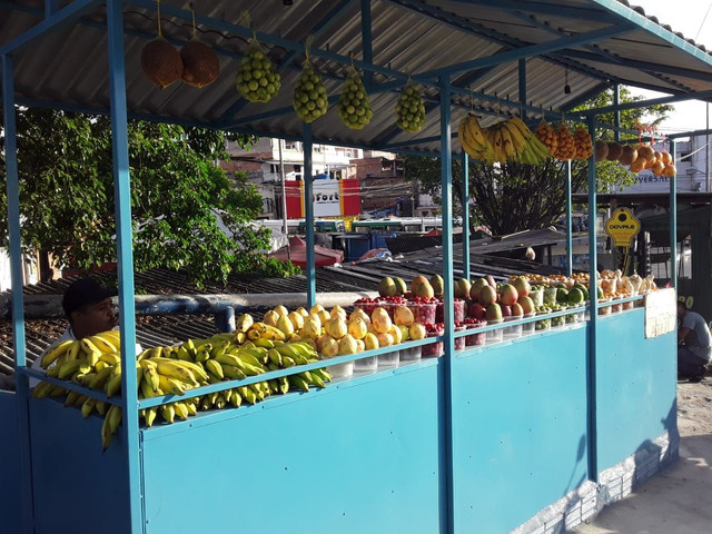 Barraca de Frutas e Verduras em Inox