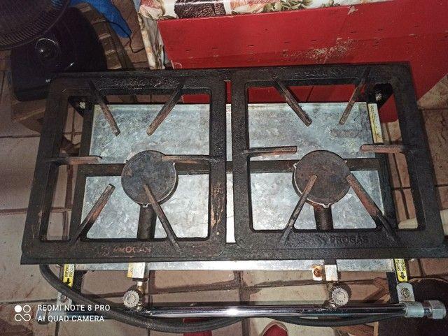 Vendo fogão semi-industrial  - Foto 3