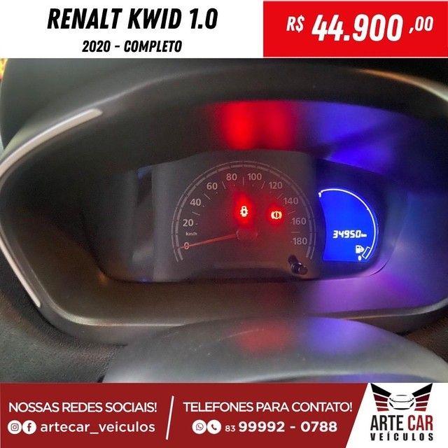 Renalt kwid 1.0 2020 completo !! - Foto 9