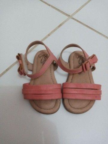 lotinho sandálias De menina  - Foto 4