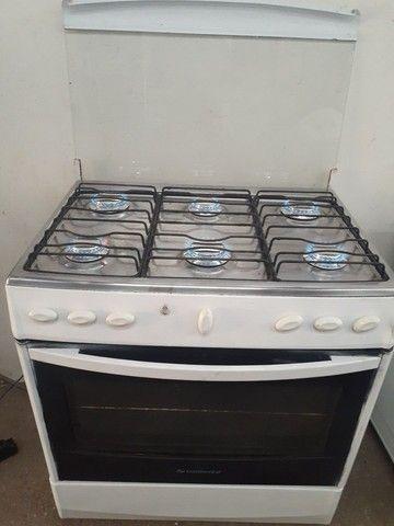 Exelent fogão 6 bocas elétrico  - Foto 2