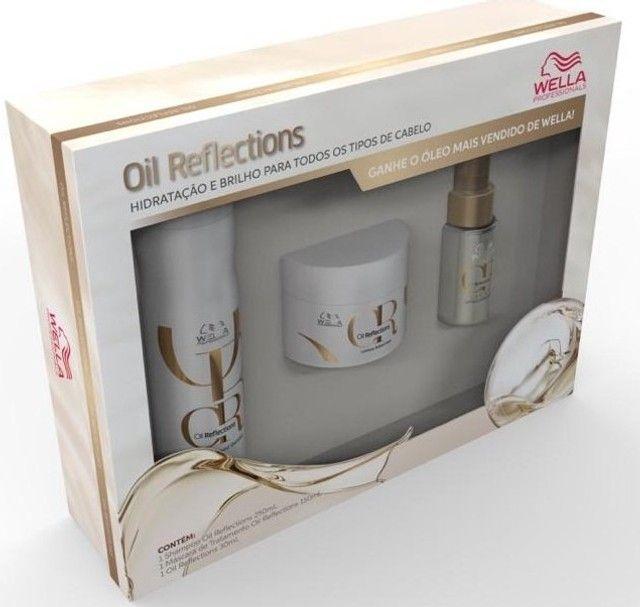 Wella Kit de Tratamento Home Care Fusion ou Oil Reflections - leia - Foto 2