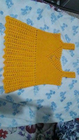Blusa de crochê  - Foto 2