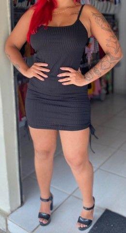 VESTIDOS FEMININOS DE QUALIDADE. QUALQUER UM POR (50,00) C ENTREGA GRÁTIS.  - Foto 4