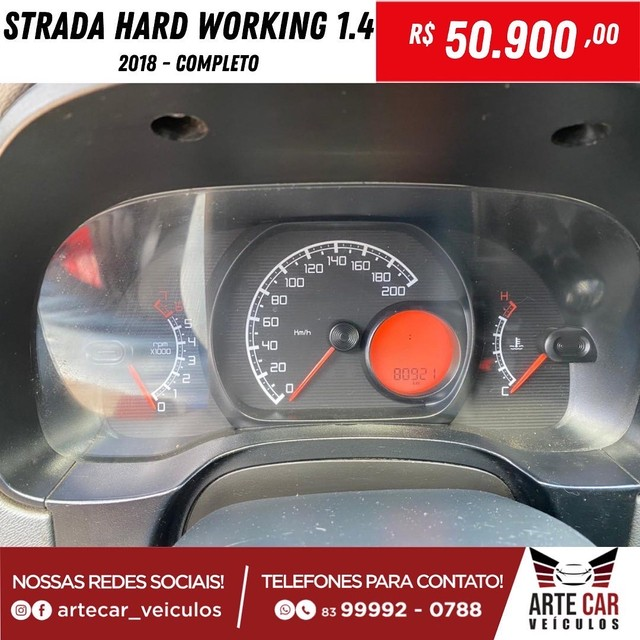 Strada hard working 1.4 completo 2018!! - Foto 5