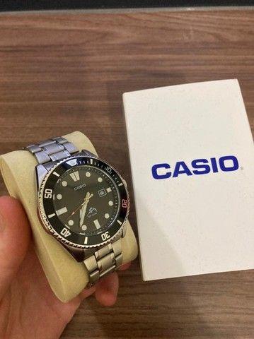 Casio Duro (Marlin) Pulseira em Aço + Original