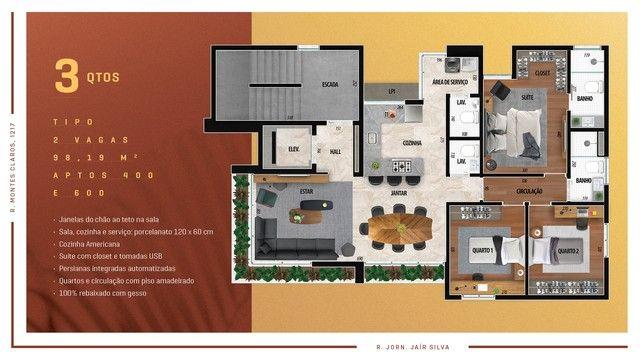 Apartamento para venda possui 114 metros quadrados com 3 quartos em Anchieta - Belo Horizo - Foto 12