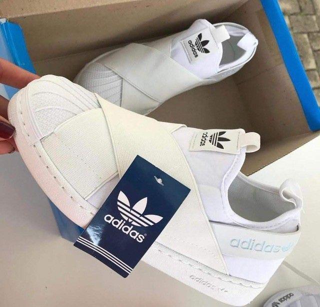 Tenis (Leia a Descrição) Adidas Slip On Várias Cores Novo - Foto 4