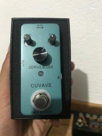 Pedal Cuvave Odrive Blues - clone do Boss blues drive