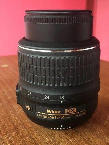 Pra vender LOGO Lente Nikon 18-55
