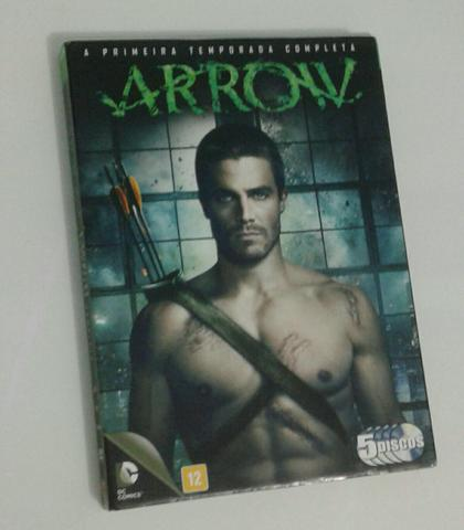 Dvd: Arrow PRIMEIRA temporada.