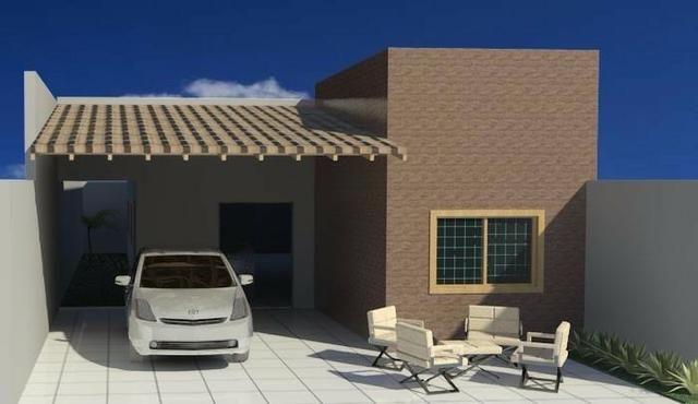 Casa - Em construção - 03 Quartos - Próximo a FAET - R$ 180 Mil Financia