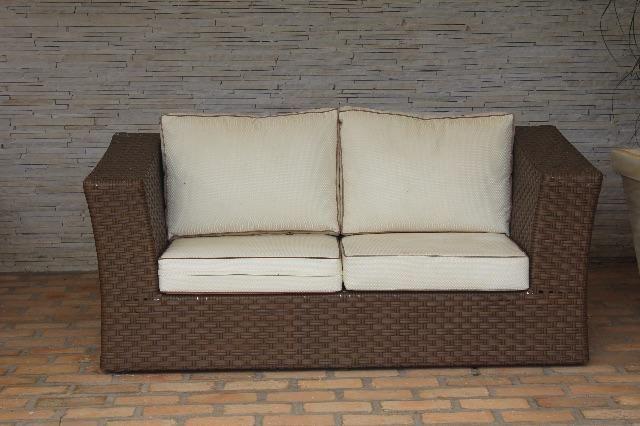 Sofas De Ratan. Amazing Sofa Exterior Neopreno Madrid Segunda Mano ...