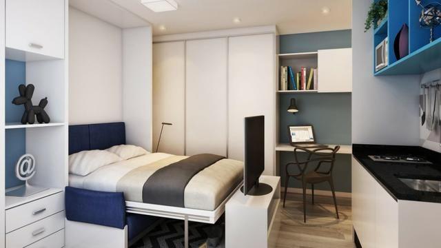 Studio 1 Dormitório Centro de Curitiba - Foto 4