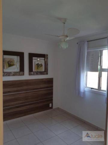 Apartamento com 2 dormitórios para alugar, 46 m² por r$ 1.050,00/mês - parque villa flores - Foto 13