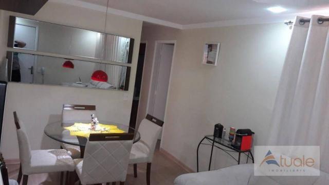 Apartamento com 2 dormitórios à venda, 50 m² - parque bandeirantes i (nova veneza) - sumar - Foto 10