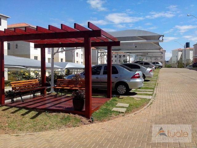 Apartamento com 3 dormitórios à venda, 50 m² - condomínio pitangueiras - hortolândia/sp - Foto 7