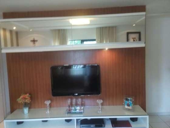 Vendo excelente apartamento todo reformado e mobiliado com garagem coberta 2/4 no planalto - Foto 11