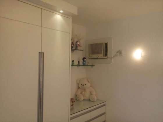 Vendo excelente apartamento todo reformado e mobiliado com garagem coberta 2/4 no planalto - Foto 16