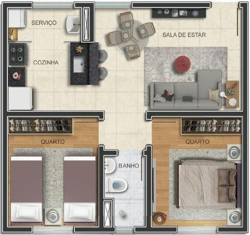 Apartamento de 2 quartos no Pindorama - Foto 3