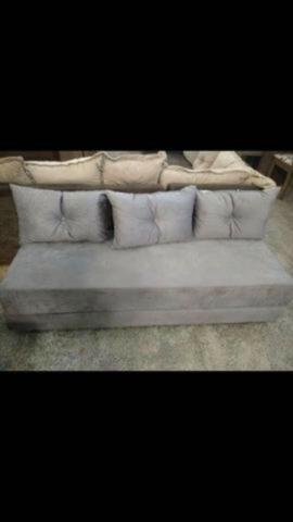 Sofá cama Multifuncional c/3 almofadas - Foto 3