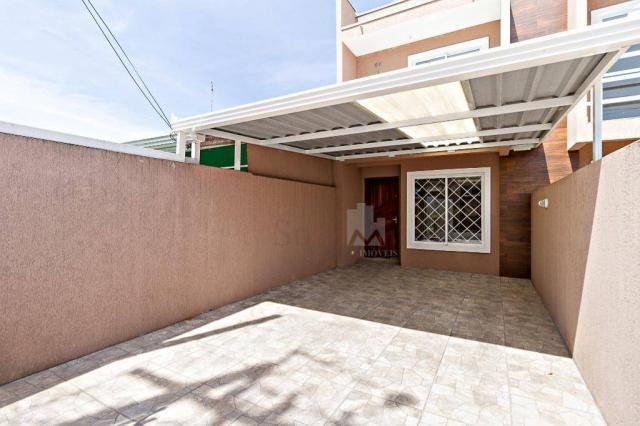 Sobrado com 2 dormitórios à venda, 70 m² por r$ 225.000,00 - ganchinho - curitiba/pr - Foto 3