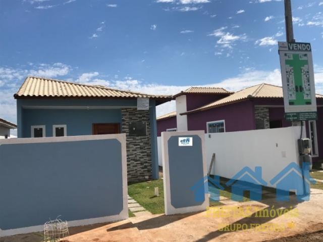 Imóvel Novo 03 Qts (01 suíte) e lavabo, Iguaba Grande