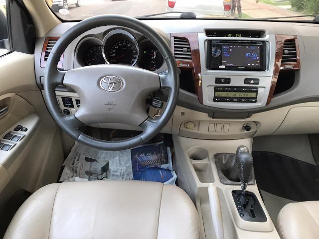 Toyota Hilux Sw4 srv 3.0 4x4 automatica - Foto 10